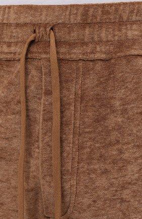 Мужские джоггеры TOM FORD коричневого цвета, арт. BW277/TFJ207   Фото 5