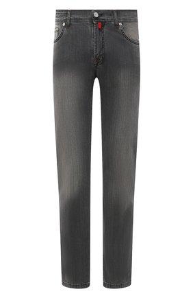 Мужские джинсы KITON серого цвета, арт. UPNJSM/J06T94 | Фото 1