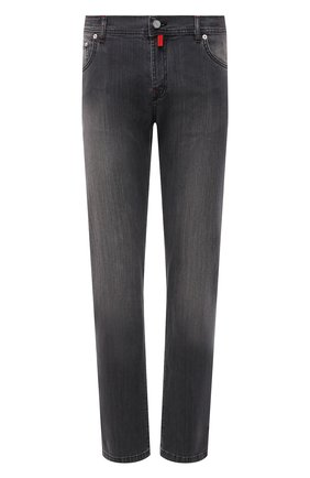Мужские джинсы KITON серого цвета, арт. UPNJS/J06T94 | Фото 1