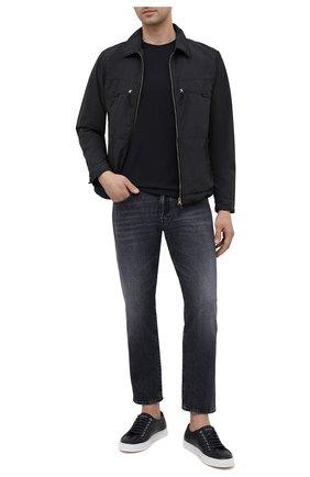 Мужские джинсы TWO MEN IN THE WORLD темно-серого цвета, арт. A12O020 Farran   Фото 2