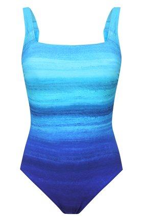 Женский слитный купальник GOTTEX голубого цвета, арт. 21TW172 | Фото 1