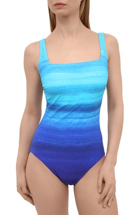 Женский слитный купальник GOTTEX голубого цвета, арт. 21TW172 | Фото 2