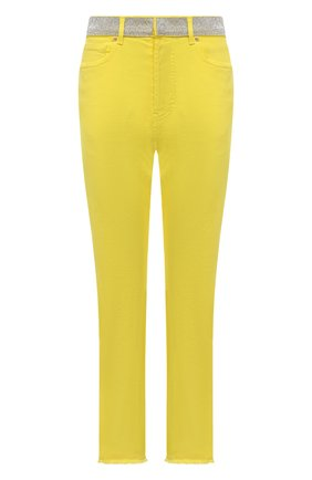 Женские джинсы ALEXANDRE VAUTHIER желтого цвета, арт. 211PA1402C 1420C-211 | Фото 1