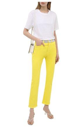 Женские джинсы ALEXANDRE VAUTHIER желтого цвета, арт. 211PA1402C 1420C-211 | Фото 2