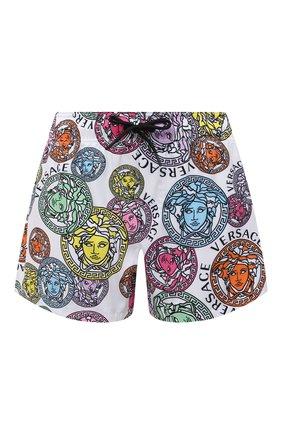 Женские шорты VERSACE разноцветного цвета, арт. ABD40006/1F00636 | Фото 1
