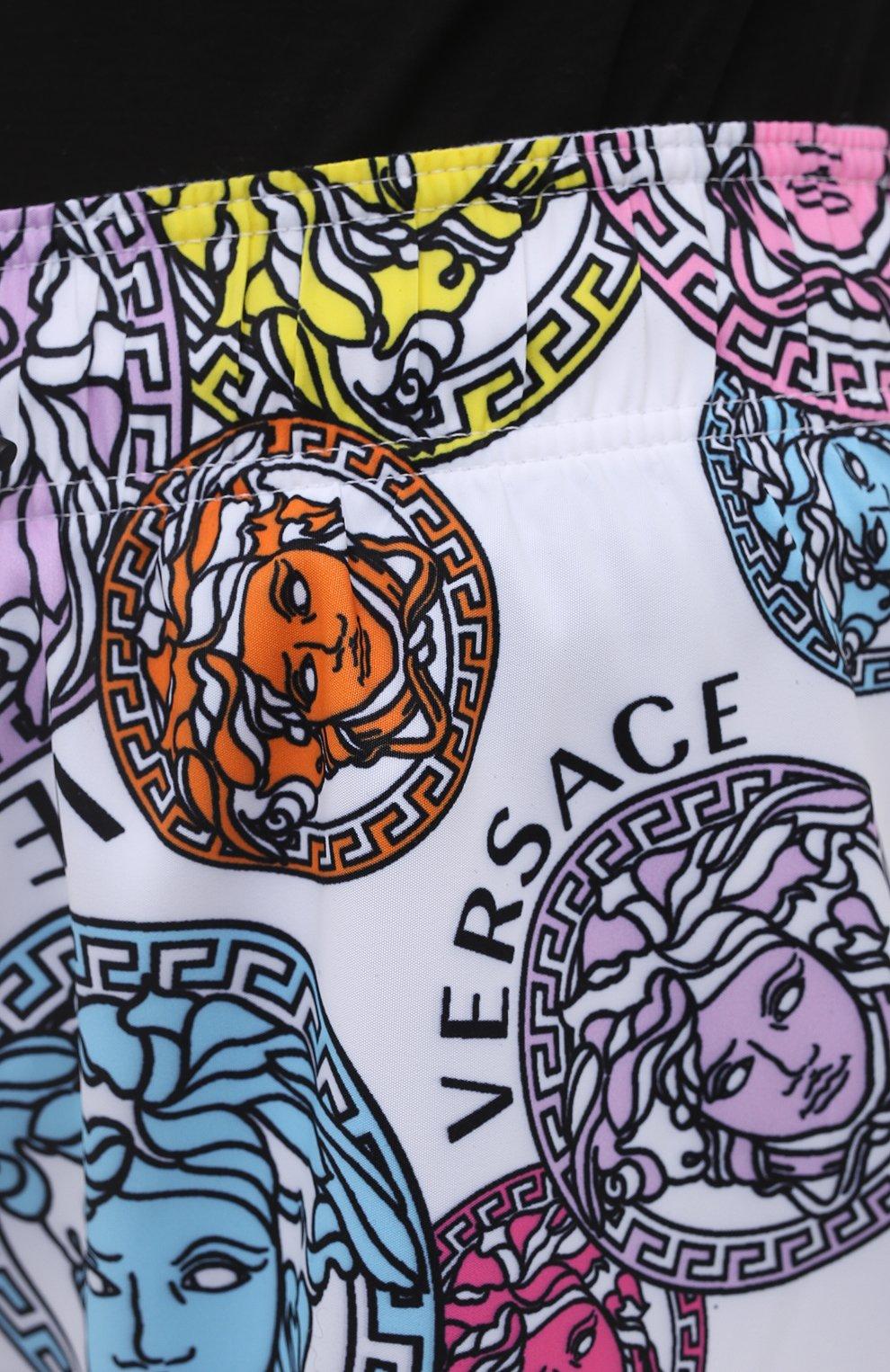 Женские шорты VERSACE разноцветного цвета, арт. ABD40006/1F00636 | Фото 5