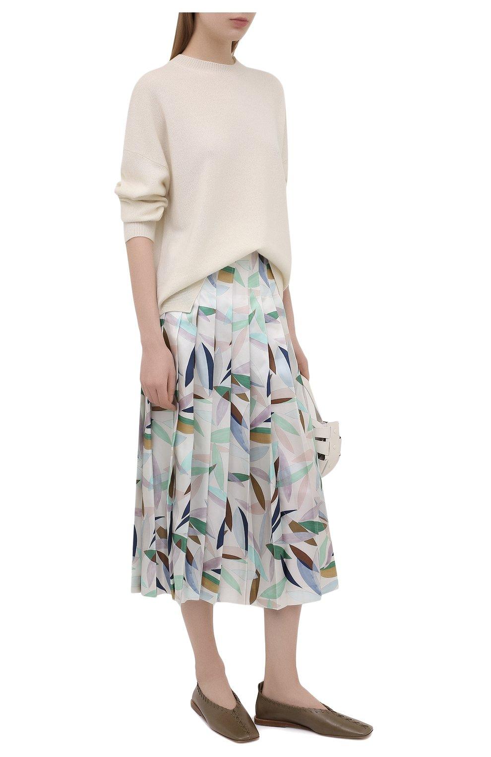 Женская шелковая юбка GABRIELA HEARST разноцветного цвета, арт. 321320 P033 | Фото 2