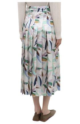 Женская шелковая юбка GABRIELA HEARST разноцветного цвета, арт. 321320 P033 | Фото 4