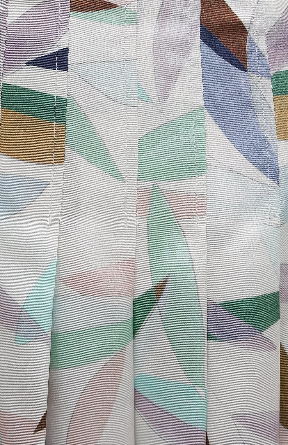 Женская шелковая юбка GABRIELA HEARST разноцветного цвета, арт. 321320 P033 | Фото 5