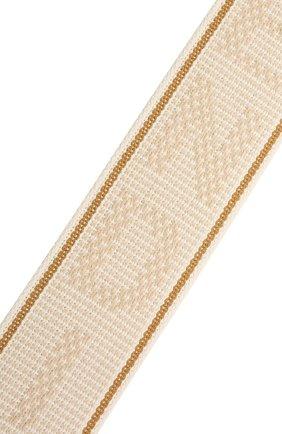 Женские текстильный ремень для сумки strap you FENDI светло-бежевого цвета, арт. 8AV134 AFI0 | Фото 3