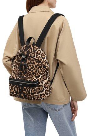 Женский рюкзак city mini SAINT LAURENT леопардового цвета, арт. 650617/2QL3E | Фото 2