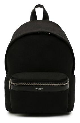 Женский рюкзак city mini SAINT LAURENT черного цвета, арт. 650617/GR0VE | Фото 1