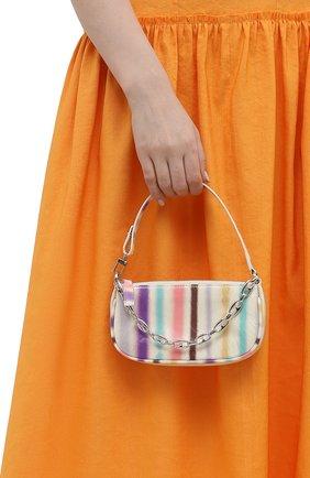 Женская сумка rachel mini BY FAR разноцветного цвета, арт. 21SSMIRAIVRSPRSMA   Фото 2