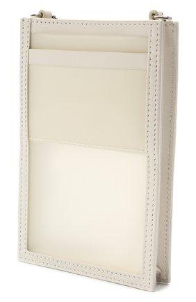 Кожаный чехол для iphone ALEXANDER MCQUEEN белого цвета, арт. 658445/14AQ3 | Фото 2