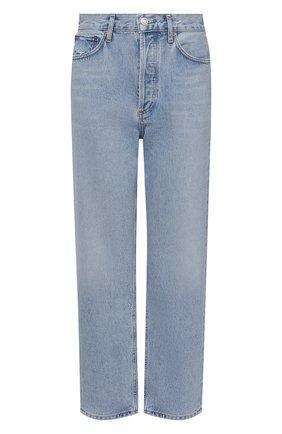 Женские джинсы AGOLDE голубого цвета, арт. A069D-1141 | Фото 1