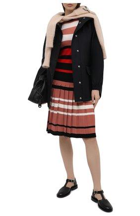 Женское шерстяное платье MARNI розового цвета, арт. ABMD0087EQ/FW531 | Фото 2