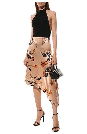 Женская юбка из вискозы MARNI розового цвета, арт. G0MAT13A00/UTV826 | Фото 2