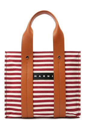 Женская сумка burton medium MARNI коричневого цвета, арт. SHMP0048Q0/P4171 | Фото 1