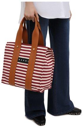 Женская сумка burton medium MARNI коричневого цвета, арт. SHMP0048Q0/P4171 | Фото 2