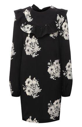 Женское шелковое платье N21 черно-белого цвета, арт. 21E N2M0/H101/5544 | Фото 1