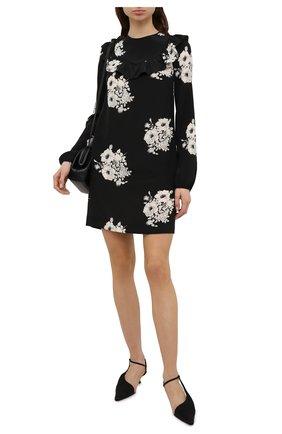 Женское шелковое платье N21 черно-белого цвета, арт. 21E N2M0/H101/5544 | Фото 2