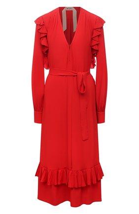 Женское платье N21 красного цвета, арт. 21E N2M0/H081/5111 | Фото 1