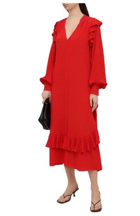Женское платье N21 красного цвета, арт. 21E N2M0/H081/5111 | Фото 2