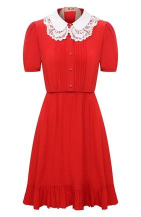 Женское платье N21 красного цвета, арт. 21E N2M0/H041/5111 | Фото 1