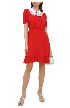 Женское платье N21 красного цвета, арт. 21E N2M0/H041/5111 | Фото 2