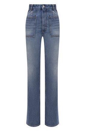Женские джинсы MM6 синего цвета, арт. S62LB0056/S30589 | Фото 1
