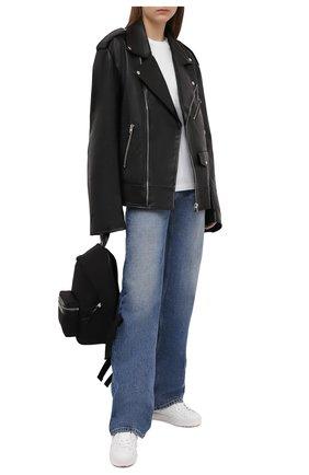 Женские джинсы MM6 синего цвета, арт. S62LB0056/S30589 | Фото 2
