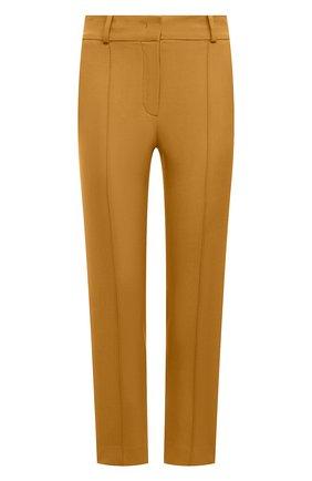 Женские шерстяные брюки LORO PIANA оранжевого цвета, арт. FAL6282 | Фото 1