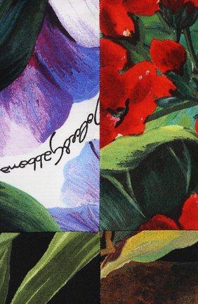 Женский комплект из платья и шорт DOLCE & GABBANA разноцветного цвета, арт. L22DT0/G7YQ0 | Фото 3
