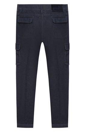 Детские джинсы JACOB COHEN синего цвета, арт. P1314 J-02002-W2   Фото 2