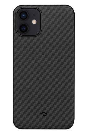 Чехол magez для iphone 12 PITAKA черного цвета, арт. KI1201M | Фото 1
