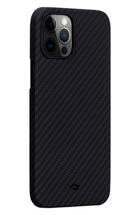 Чехол magez для iphone 12 pro max PITAKA черного цвета, арт. KI1201PM | Фото 1