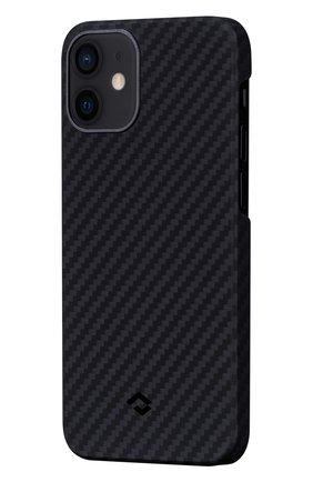 Чехол magez для iphone 12 mini PITAKA черного цвета, арт. KI1201 | Фото 1