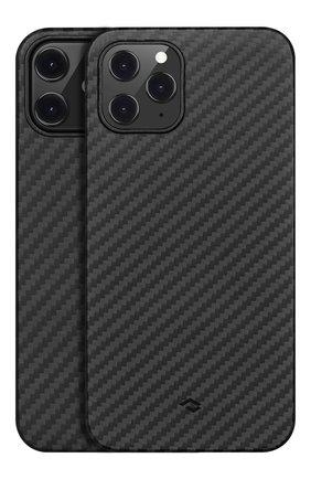 Чехол magez для iphone 12/12 pro PITAKA черного цвета, арт. KI1201P | Фото 1