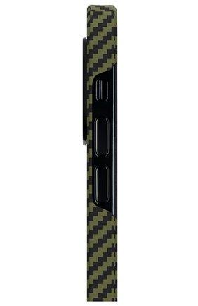 Чехол magez для iphone 12/12 pro PITAKA зеленого цвета, арт. KI1205P | Фото 2