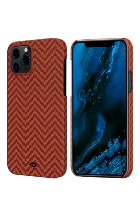 Чехол magez для iphone 12 pro max PITAKA красного цвета, арт. KI1207PM | Фото 1