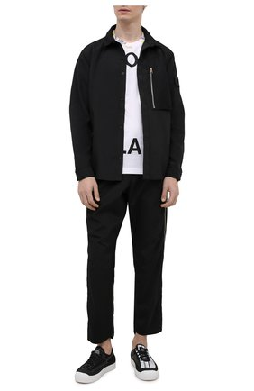 Мужская куртка STONE ISLAND SHADOW PROJECT черного цвета, арт. 741910102   Фото 2