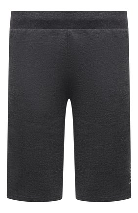Мужские шорты POLO RALPH LAUREN серого цвета, арт. 714830294 | Фото 1 (Материал внешний: Хлопок, Синтетический материал; Кросс-КТ: Трикотаж; Стили: Спорт-шик; Принт: С принтом; Длина Шорты М: Ниже колена)