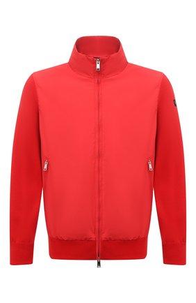 Мужской комбинированный кардиган PAUL&SHARK красного цвета, арт. 21411721/H06 | Фото 1