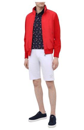 Мужской комбинированный кардиган PAUL&SHARK красного цвета, арт. 21411721/H06 | Фото 2