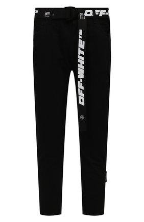 Мужские джинсы OFF-WHITE черного цвета, арт. 0MYA005S21DEN003 | Фото 1