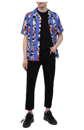 Мужские джинсы OFF-WHITE черного цвета, арт. 0MYA005S21DEN003 | Фото 2