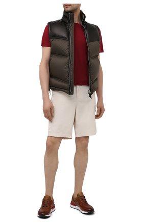 Мужские кожаные кроссовки MAGNANNI коричневого цвета, арт. 22926/B0LTAN | Фото 2