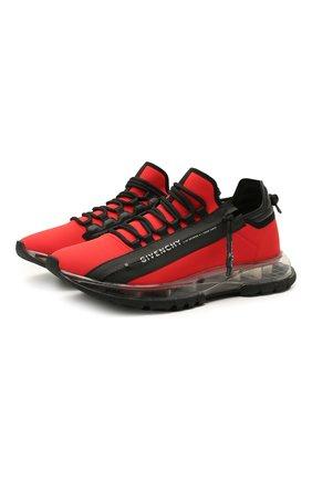 Мужские кроссовки spectre GIVENCHY красного цвета, арт. BH003MH0TP | Фото 1 (Материал внутренний: Натуральная кожа, Текстиль; Материал внешний: Текстиль; Стили: Гранж; Подошва: Массивная)
