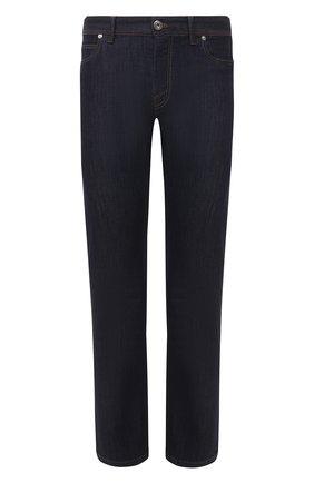 Мужские джинсы BRIONI темно-синего цвета, арт. SPPC0M/P0D05/CHAM0NIX | Фото 1