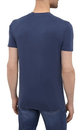 Мужская футболка TOM FORD темно-синего цвета, арт. BW229/TFJ950 | Фото 4